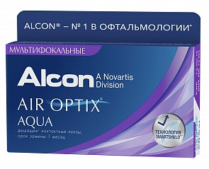 Air Optix Aqua Multifocal 3 pk